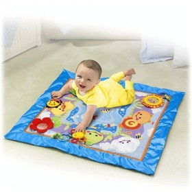 Saltea de joaca Friendly Firsts Discovery Play Quilt - Fisher Price