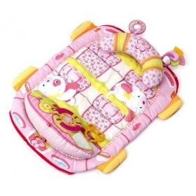 Saltea de joaca Pretty in Pink Tummy Cruiser Prop & Play Mat