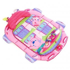 Saltea de joaca Tummy Cruiser Prop & Play Roz