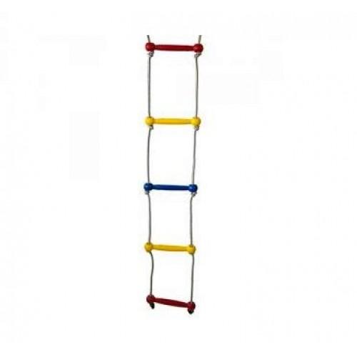 Scara franghie pentru catarat - 1,91 m - multicolora