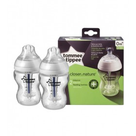 Set 2 biberoane anticolici 260 ml Tommee Tippee Closer to Nature PP