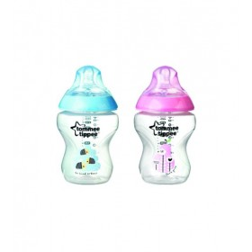 Set 2 biberoane decorate 260 ml Tommee Tippee Closer to Nature PP