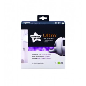 Set 2 biberoane Ultra 260 ml Tommee Tippee Closer To Nature