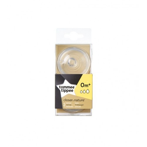 Set 2 tetine Tommee Tippee Closer to Nature - flux variabil
