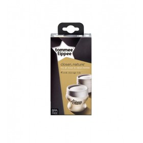 Set 4 capace pentru biberoane Tommee Tippee Closer to Nature PP