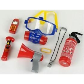 Set 7 accesorii pompier - Klein