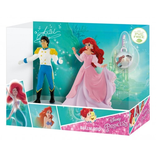 Set Ariel si Eric cu medalion - Bullyland