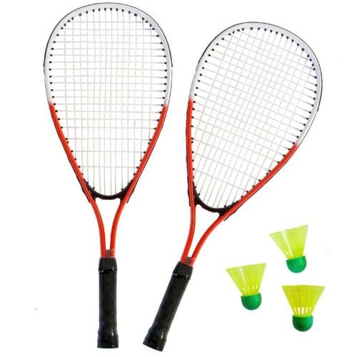 Set badminton viteza 2 rachete şi 3 fluturasi - SportX***