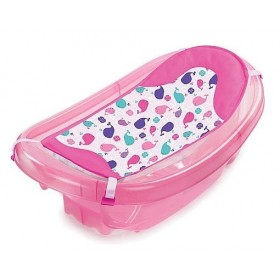 Set cadita si suport de baita Sparkle and Splash