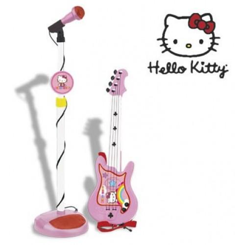 Set chitara si microfon Hello Kitty - Reig Musicales