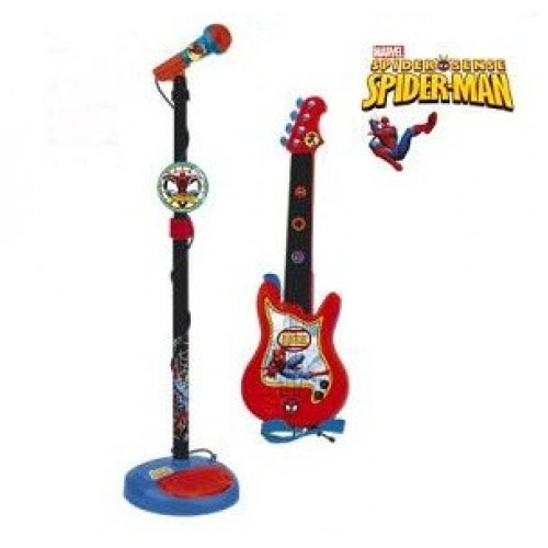 Set chitara si microfon Spiderman - Reig Musicales