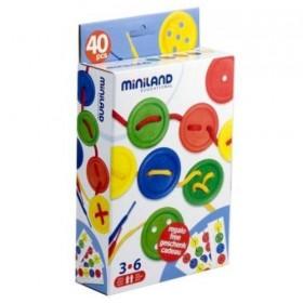 Set cu 40 nasturi pentru activitati educative