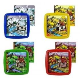 Set de 4 puzzle Anotimpurile anului