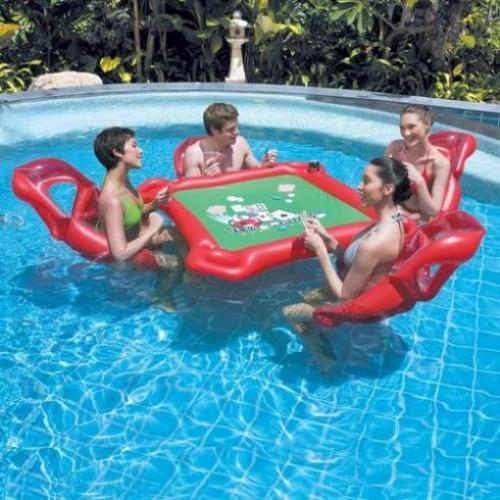 Set de piscina Texas Hold