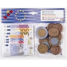 Set Euro bancnote, monede si chitante - Klein