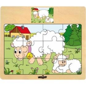 Set puzzle Animale Woody