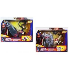 Superman - figurina lansatoare si vehicul