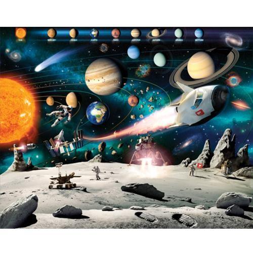 Tapet Walltastic - Aventura din spatiul cosmic