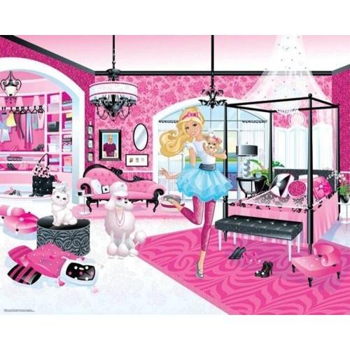 Tapet Walltastic - Barbie