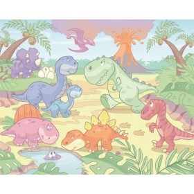 Tapet Walltastic - Bebelusi - Dinozauri