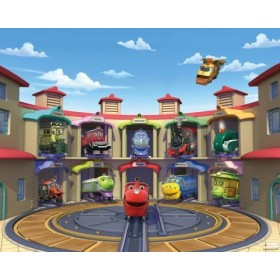 Tapet Walltastic - Chuggington