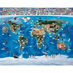 Tapet Walltastic - Harta lumii