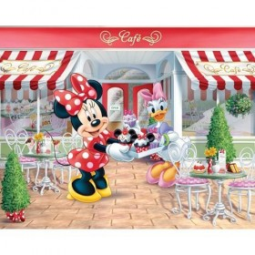 Tapet Walltastic - Minnie Mouse