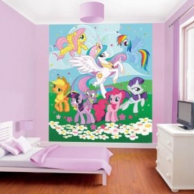 Tapet Walltastic - My Little Pony Friendship is Magic