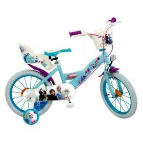 """Bicicleta 16"""" Frozen 2 - fete - Toimsa"""