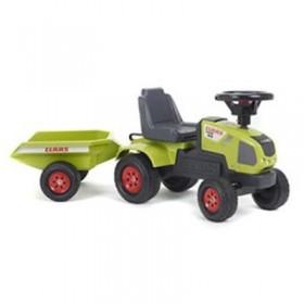 Tractoras Baby Claas cu Remorca