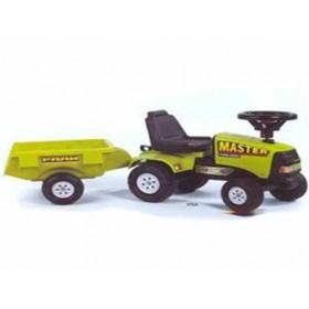 Tractoras Baby Master cu remorca