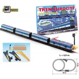 Trenulet electric calatori Eurocity