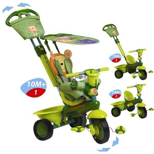 Tricicleta 3 in 1 Royal - verde - Fisher-Price