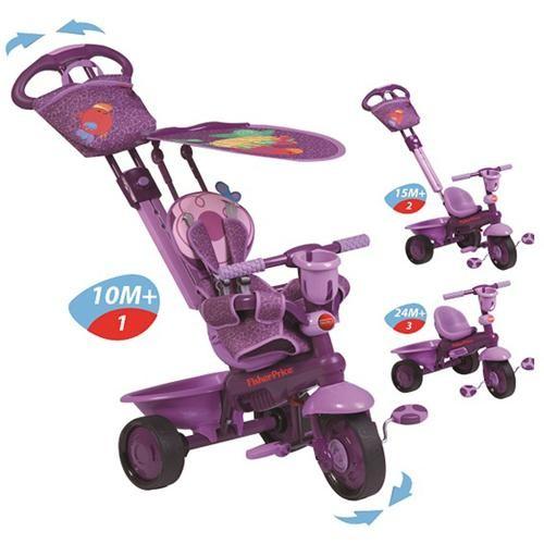 Tricicleta 3 in 1 Royal violet - Fisher-Price