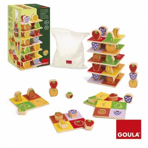 Turnul fructelor din lemn - Goula