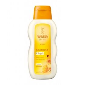 Ulei de corp cu galbenele fara parfum - Weleda Baby