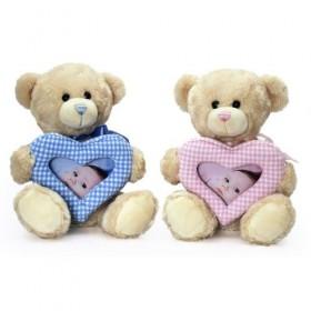Ursuleti din plus cu rama foto Keel Toys