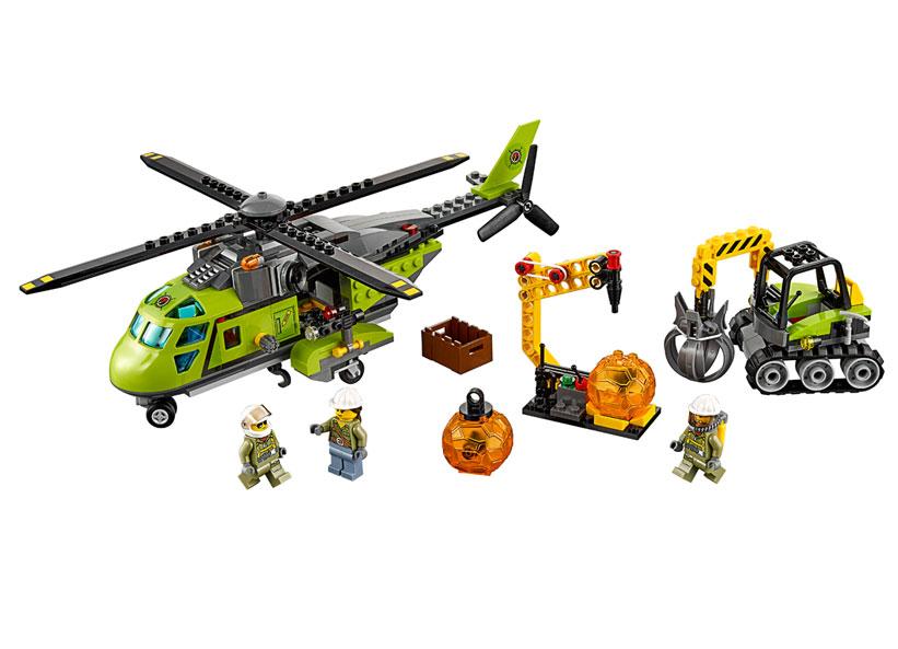 Elicopter de aprovizionare la vulcan (60123)