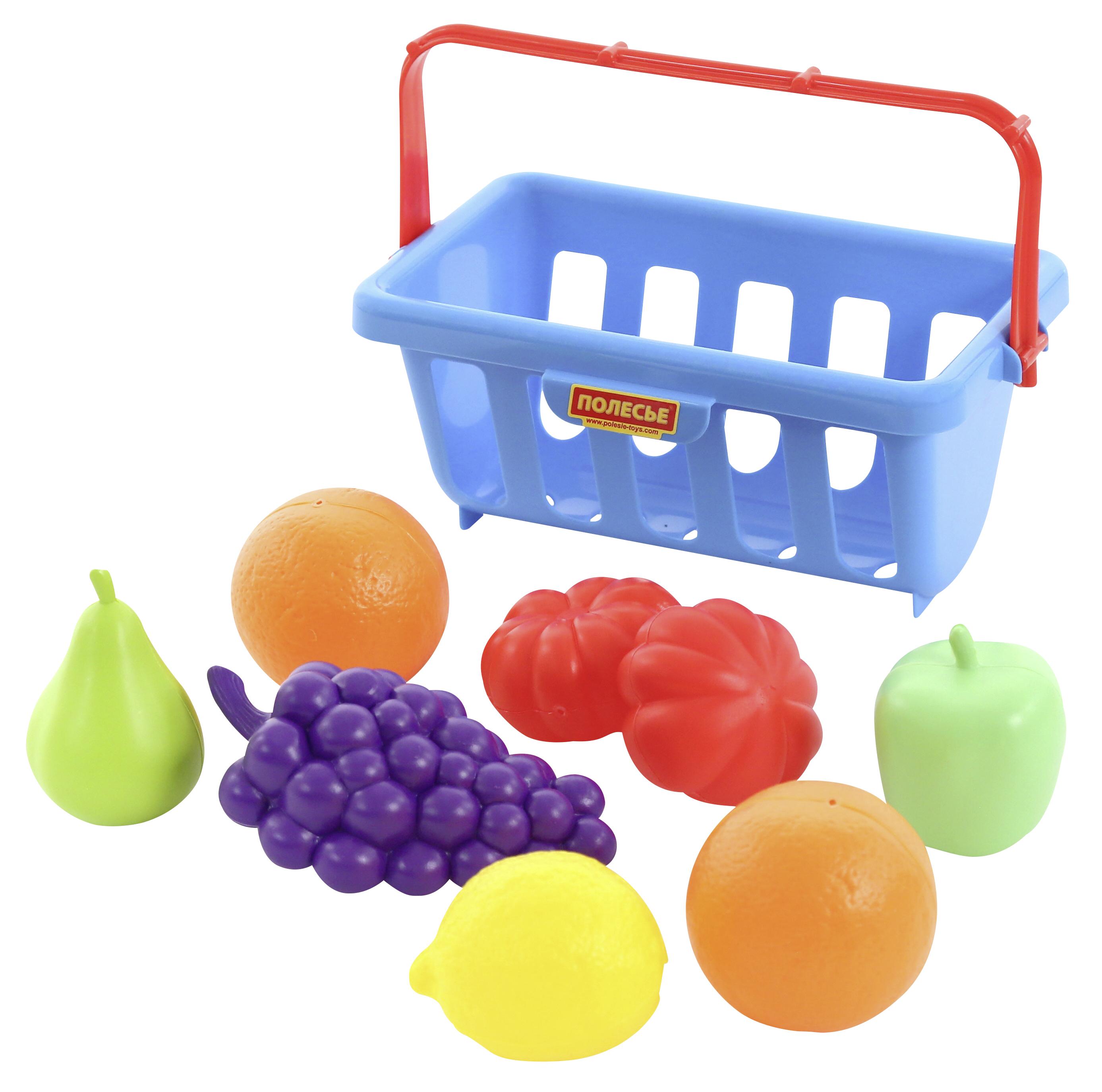 Cos de cumparaturi cu fructe si legume - Polesie Wader