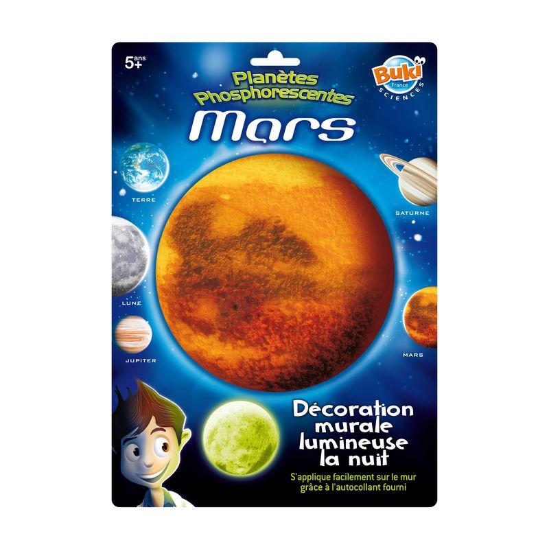 Decoratiuni de perete fosforescente - Planeta Marte - Buki