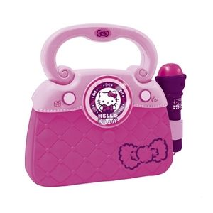 Geanta cu microfon si amplificator Hello Kitty - new - Reig Musicales