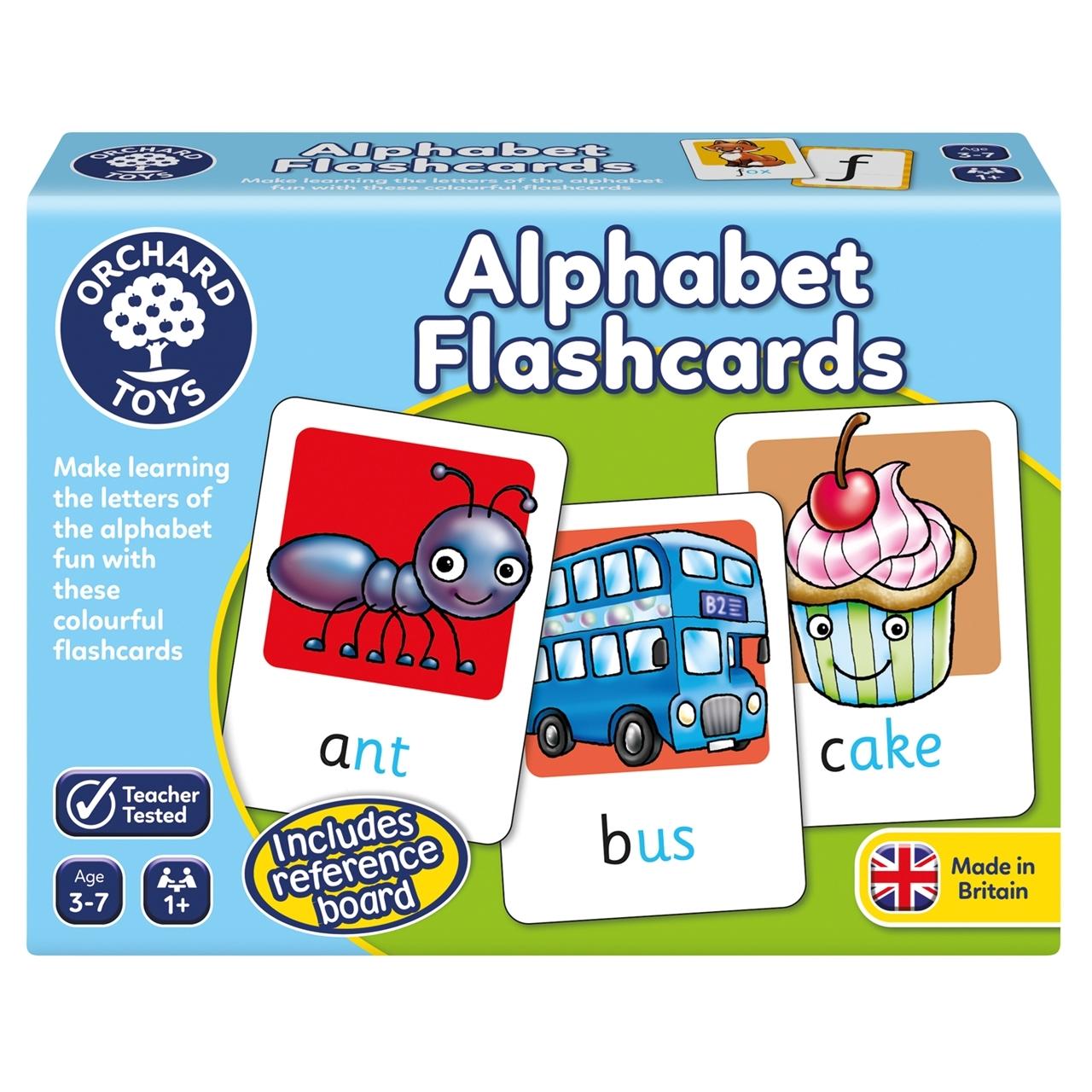 Joc educativ in limba engleza - Alphabet FlashCards - Orchard Toys
