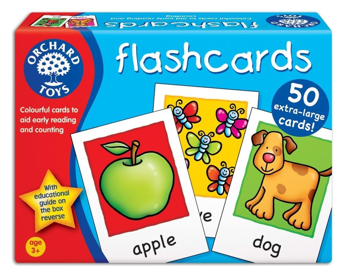 Joc educativ in limba engleza Cartonase - FlashCards - Orchard Toys