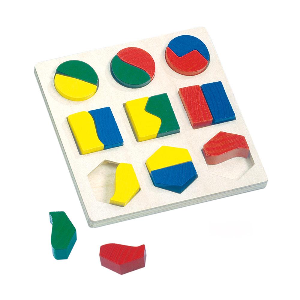 Puzzle cu forme geometrice - Bino