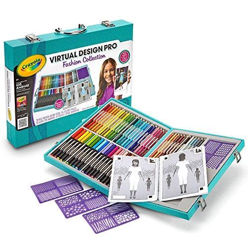 Set Virtual Design Pro - Colectia Fashion - Crayola