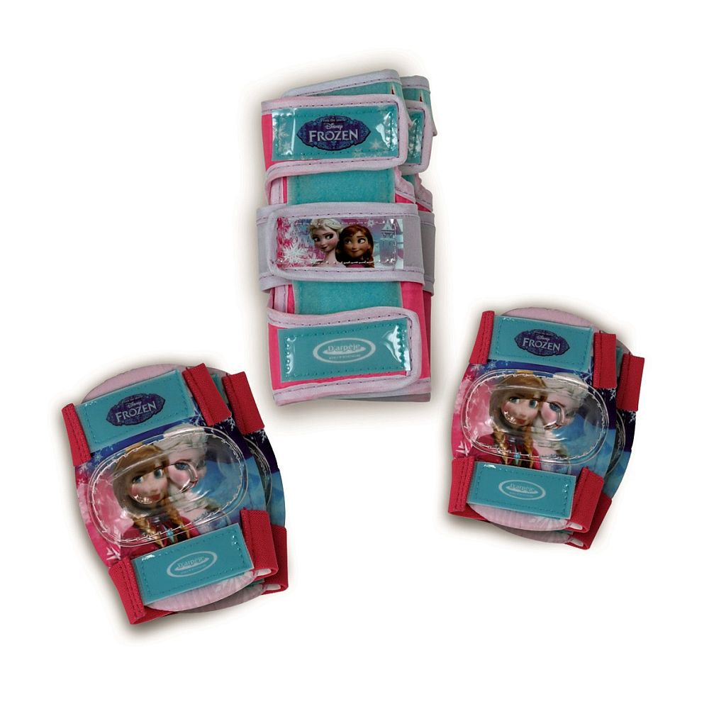 Set protectie Disney Frozen - genunchiere, cotiere, protectie incheieturi - D`Arpeje