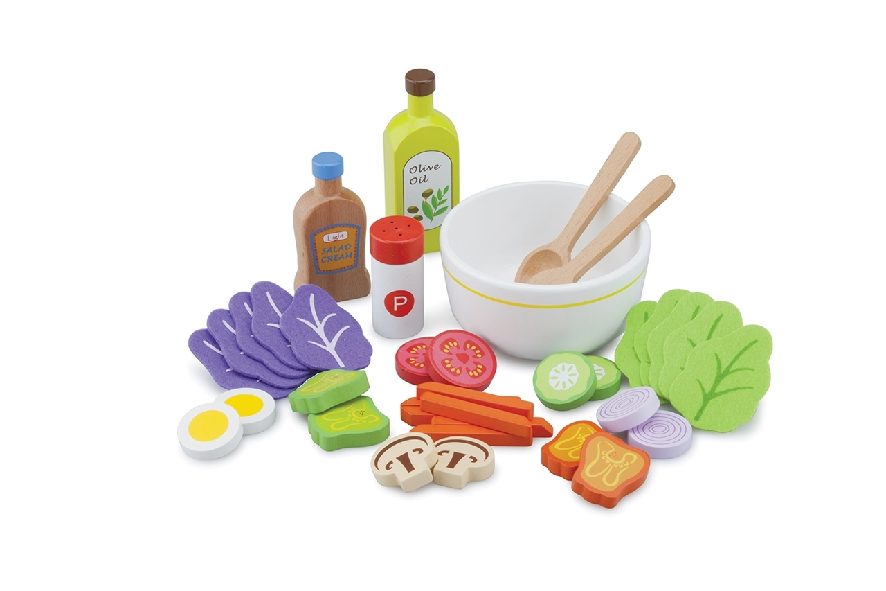Set salata 18 piese New Classic Toys
