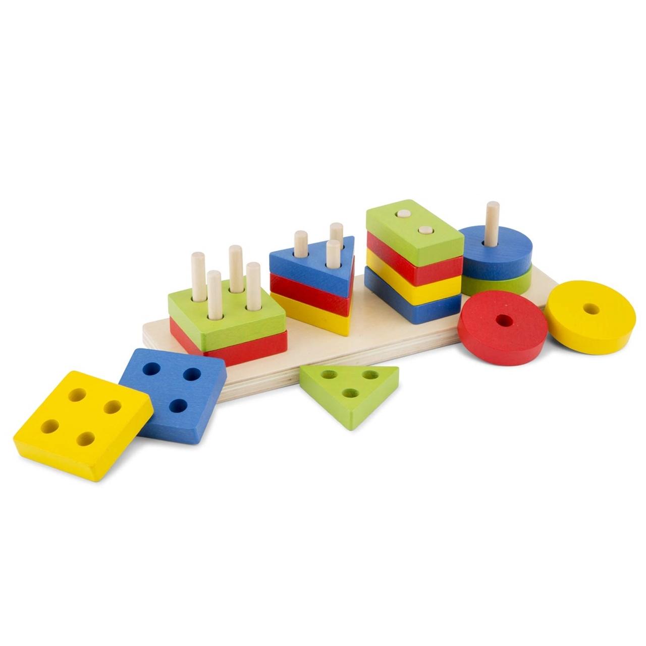 Sortator forme geometrice si culori - New Classic Toys