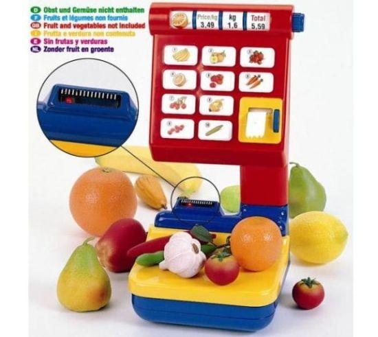 Cantar supermarket cu afisare electronica a greutatii