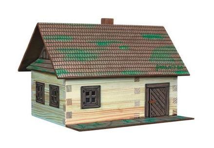 Casa traditionala - joc de constructie